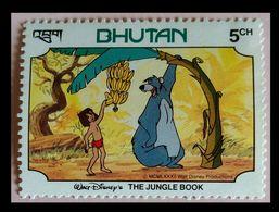 110. BHUTAN (5CH) 1982 STAMP THE JUNGLE BOOK. MNH - Bhoutan