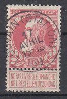 BELGIË - OPB - 1905 - Nr 74 - T1L (LOUVAIN(STATION)) - COBA + 2.00 € - 1905 Thick Beard