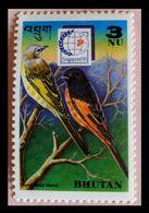 110. BHUTAN (3NU) 1995 STAMP BIRDS . MNH - Bhoutan