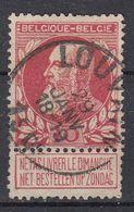 BELGIË - OPB - 1905 - Nr 74 - T1L (LOUVAIN) - COBA + 1.00 € - 1905 Thick Beard