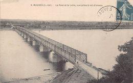 MAUVES SUR LOIRE  -  LOT De 5 Belles Cartes  Anciennes  Sur Le PONT  - Prix Fixe - Mauves-sur-Loire