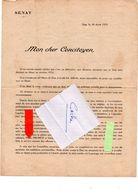 Dax 40 , Campagne De Eugène Millies Lacoix 1935 - Vecchi Documenti