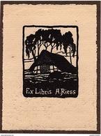 EX LIBRIS A. RIESS - Ex-libris