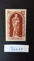 MONACO N° 360 ** - Unused Stamps