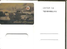 TELECARTE PYJAMA-  Repiquage CITY-ORLEANS Sur PY16 Avec Passeport Or - France