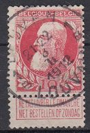 BELGIË - OPB - 1905 - Nr 74 - T4R (LEUVEN/LOUVAIN 1B) - COBA + 2.00 € - 1905 Thick Beard