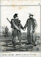 Campagne D'Italie1859.Napoléon III.Invasion Du Piémont Par Les Autrichiens.fin Des Hostilités.les Adieux. - Prenten & Gravure
