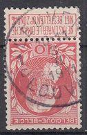 BELGIË - OPB - 1905 - Nr 74 - T4R (LEUVEN/LOUVAIN 1C) - COBA + 2.00 € - 1905 Thick Beard