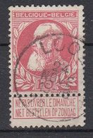 BELGIË - OPB - 1905 - Nr 74 - T1L (LOOZ) - COBA + 4.00 € - 1905 Grosse Barbe