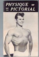 (culturisme) Revue PHYSIQUE PICTORIAL   Vol 5 N°2 1955  (M0347) - Sport