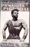 (culturisme) Revue PHYSIQUE PICTORIAL Vol 9 N°2  Sept 1959   (M0349) - Sport