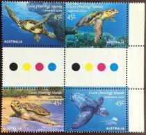 Cocos Keeling 2002 Turtles MNH - Turtles