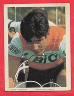 Carte Cycliste N° 7 équipe Bic France - Cycling