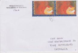Vatican 2002. Europa 2002 Zirkus. Mi 1416, 2x0,62 € MeF, Bedarf - Cirque