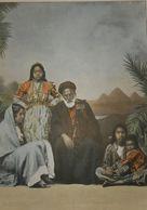 Egypte. Famille Copte. Photogravure Fin XIXe. - Prenten & Gravure