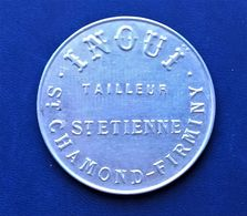 Miroir Publicitaire. Miroir De Courtoisie. INOUI TAILLEUR. St Etienne. St Chamond. Firminy. - Autres