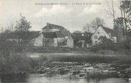 CPA 86 Vienne Saint St Pierre De Maillé Le Bourg Vu De La Chapelle - Otros Municipios