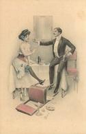 M.M VIENNE  M. MUNK  FEMME Dénudée Champagne - Vienne