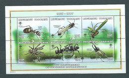 Togo - Correo Yvert 1610AQ/AV ** Mnh  Fauna Insectos - Togo (1960-...)