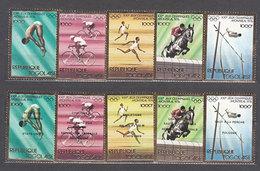 Togo - Correo Yvert 858/62A ** Mnh   Olimpiadas De Montreal - Togo (1960-...)