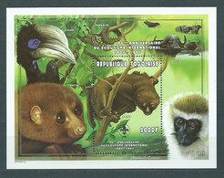Togo - Hojas Yvert 316G ** Mnh  Fauna - Togo (1960-...)