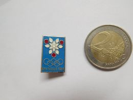 Belle Broche  ( No Pin's ) , JO Jeux Olympiques Grenoble 1968 ; Signé Arthus Bertrand - Olympische Spelen