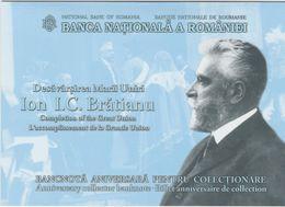 ROMANIA 2019  100 Lei  Polymer Commemorative Banknote -The Great Union-I.C. Bratianu Uncirculated - Rumänien