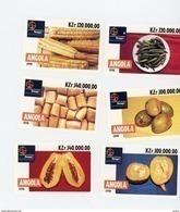 Angola 1998-Alimentation,gastronomie-YT 1195/1200***MNH - Angola