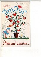 55682 - L'AMOUR Prenait Racine - J. AUREL - Illustrators & Photographers