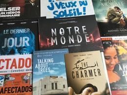 24 Plaquettes De Présentation Films : Chemin De Croix/À Peine J'ouvre Les Yeux/Blind/Liberté/Affectados/Téhéran Tabou/Th - Merchandising