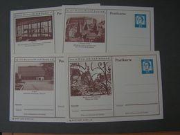 BRD Bildkarten Heuss  * 4 Stück Lot - BRD