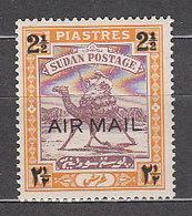 Sudan - Aereo Yvert 12 * Mh  Fauna - Sudan (1954-...)