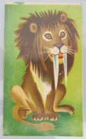 AMERICAN DECALCOMANIA COMPANY JERUSALEM LEON LEO LION ISRAEL CALCOMANIA LABEL ETIQUETTE AUFKLEBER DECAL STICKER ETIQUETA - Autres Collections