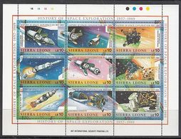 Sierra Leona - Correo Yvert 1042/50 ** Mnh  Astro - Sierra Leone (1961-...)