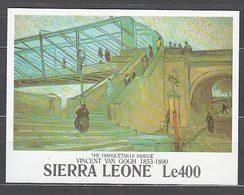 Sierra Leona - Hojas Yvert 161 ** Mnh  Pinturas Van Gogh - Sierra Leone (1961-...)
