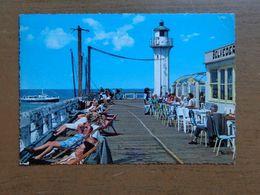 Oostende: Staketsel (met Vuurtoren, Phare, Lighthouse) - Beschreven - Oostende