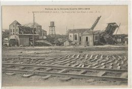 RUINES DE LA GRANDE GUERRE 1914-1918 HENIN LIETARD FOSSE N°2 BIS LES FOURS A COKE - France