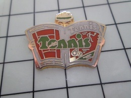 1320 Pin's Pins / Beau Et Rare / THEME : SPORTS / TENNIS MAGAZINE Par DECAT - Tennis