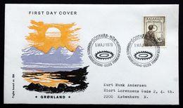 Greenland   1979  Helmsman, Internal Autonomy MiNr.115   FDC ( Lot Ks ) FOGHS COVER - FDC