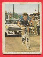 Carte Cycliste N° 49 Rini WAGTMANS équipe Willem II Gazelle Nederland Hollande - Radsport