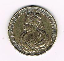 //  PENNING  ELIZ CAR.PALATINA RHENI AVRELIAN - WANDER GROSCHEN 1996 - Souvenir-Medaille (elongated Coins)