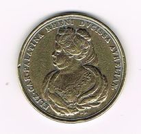 //  PENNING  ELIZ CAR.PALATINA RHENI AVRELIAN - WANDER GROSCHEN 1996 - Pièces écrasées (Elongated Coins)