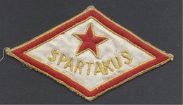 "Hungary, ""Spartakus"" Sport(?) Association. - Ecussons Tissu"