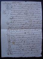 Tonneins 1806 Lot-et-Garonne Obligation Jacques Larrieu à Michel Caillaour (?) Boulanger - Manuscripts