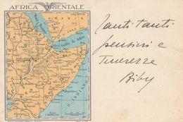 Cartolina Postale In Franchigia - Africa Orientale Viaggiata Via Aerea -  F/23 - 1900-44 Victor Emmanuel III.