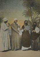 Egypte. Musiciens Arabes. Photogravure Fin XIXe. - Prenten & Gravure