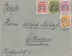 LETTONIE 1932 LETTRE DE RIGA POUR GÖTTINGEN - Lettonie