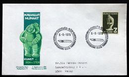 Greenland   1979.Cz.Slania. Soapstone Skulptur MiNr.117 FDC ( Lot Ks ) - FDC
