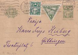 LETTONIE 1931     ENTIER POSTAL/GANZSACHE/POSTAL STATIONARY CARTE DE RIGA - Lettonie