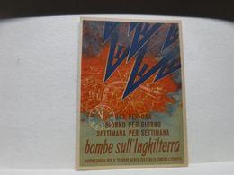 REPUBBLICA SOCIALE  ITALIANA --R.S.I. ---  BOMBE SULL'INGHILTERRA - Guerra 1939-45